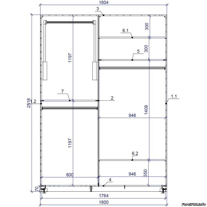 Программа для чертежей шкафов онлайн